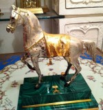 Horse Sculpture Created By Saudi Arabia Posted By Ssantique
