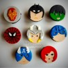 Superheroes cupcakes Created By  Posted By Tamara Sweet Bites