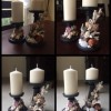"Shell candle stand Created By Mariya Gergert ""My Arts Stuff"" Posted By Mariya Gergert"