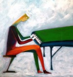 The sad pianist Created By  Posted By Kareem G Albakry