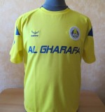 Al Gharafa match shirt Created By  Posted By Daniel Haas