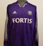 Anderlecht match shirt Created By  Posted By Daniel Haas