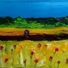 Poppies and Corn Created By  Posted By Vaudrey Art