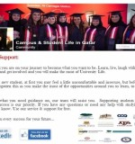 Zoom In Created By  Posted By Campus & Student life in Qatar