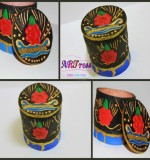 Ottoman Inspired Round Jewelry Box Created By ARTress Qatar Posted By Amber Rauf
