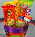 Mini Halloween candy delight (9cm) Created By Basket Of Joy Posted By Basket of Joy