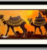 Sunset in Desert Created By Swapna namboodiri Posted By Glassy Dreamz