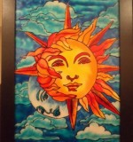 Sun and Moon Created By Swapna namboodiri Posted By Glassy Dreamz