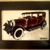 Vintage car - brown