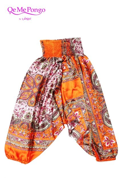 silk funky pants Created By  Posted By Qemepongo