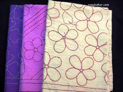 Baby Katha Blanket Created By  Posted By Rongbahar