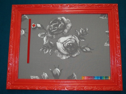 Hand Made Magnetic Organising Frames Created By  Posted By Flutterbysqatar
