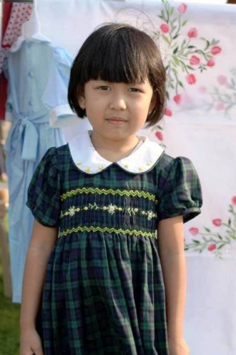 Smocking Kids Wear Created By  Posted By Nkid Hand Embroidery
