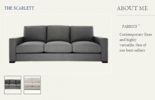 The Scarlett Sofa Created By  Posted By Origins