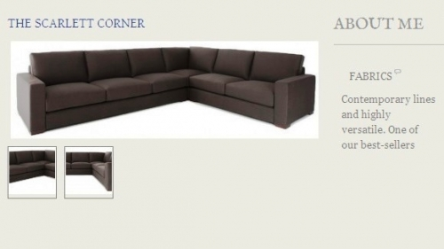 The Scarlett Corner Sofa Created By  Posted By Origins