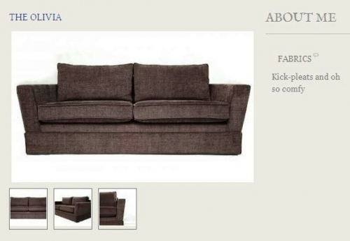 The Olivia Sofa Created By  Posted By Origins