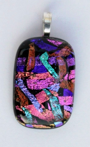 Dichroic Glass Crafts Created By  Posted By Sue Akers