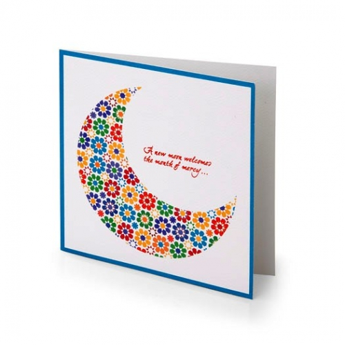 Zillij Ramadan Greeting Cards Created By  Posted By Silver Envelope