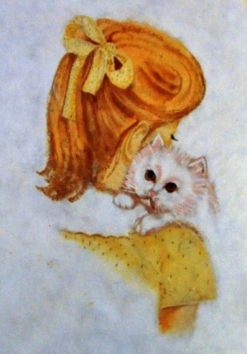 KITTEN AND THE GIRL Created By  Posted By Sanjaya Chapolkar