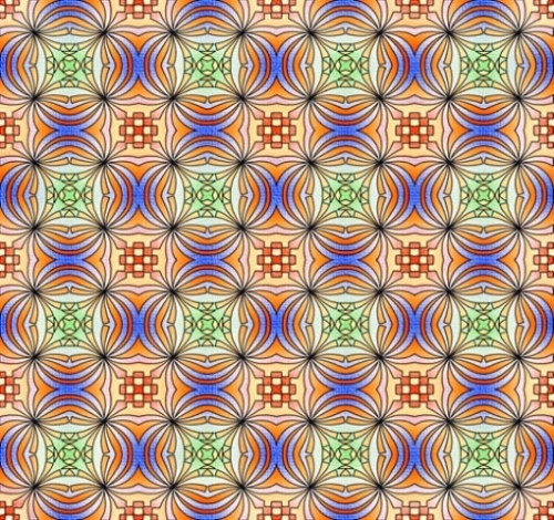 Pattern Art Created By  Posted By Fahamullah Khan