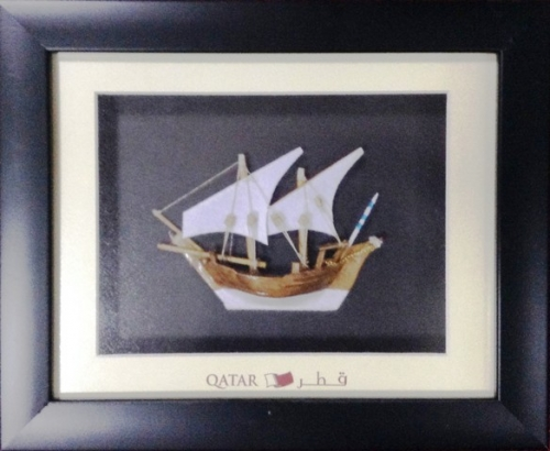 Wall Art with Frame Created By  Posted By Metro Frames Doha