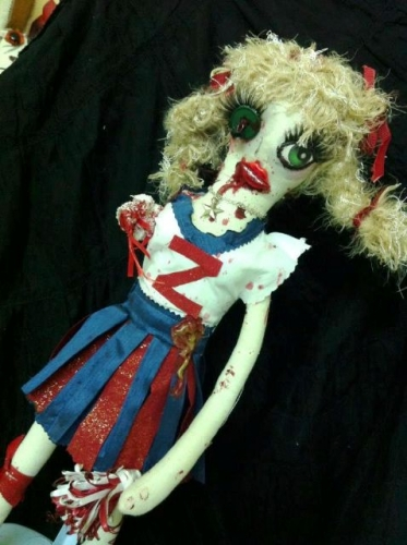 Zombie Dolls Created By  Posted By Pink Pepper Craft Studio