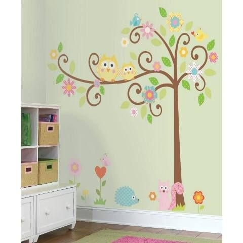 Owl Tree Wall Decals Created By  Posted By Wall Art