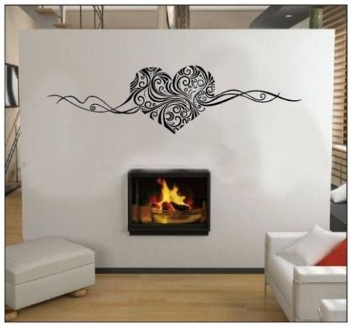 Wall Art Vinyl Heart Created By  Posted By Wall Art