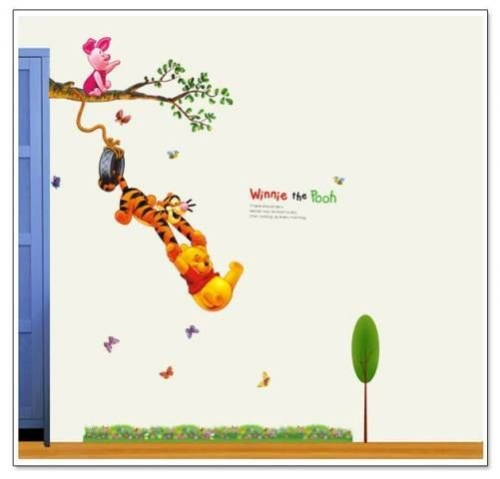 Winnie Wall Decal Created By  Posted By Wall Art