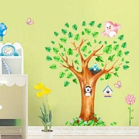 Tree Wall Stickers Created By  Posted By Wall Art