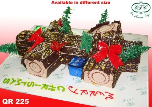 Christmas Cake Created By  Posted By Eli France Sweets And Coffee Shop
