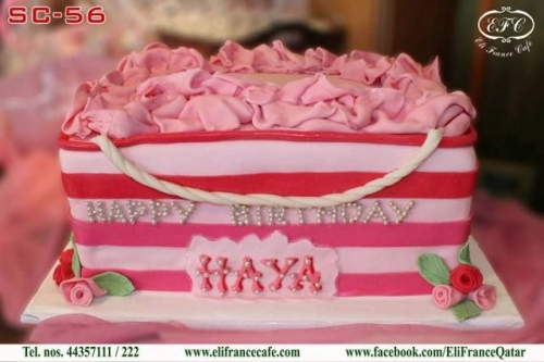 Victoria Secret Bag Cake Created By  Posted By Eli France Sweets And Coffee Shop