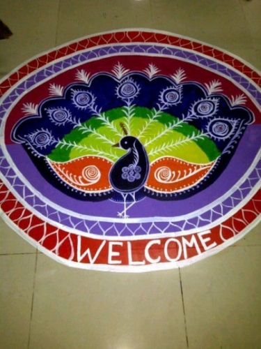 Rangoli 2012 Created By  Posted By Pritha Pattanyak
