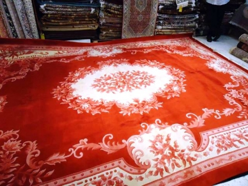 RED Chinese carpet Created By  Posted By Oriental Carpet Company