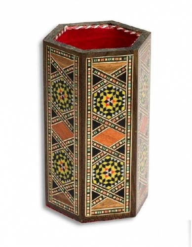 Syrian mozaic penholder Created By  Posted By Oriental Carpet Company