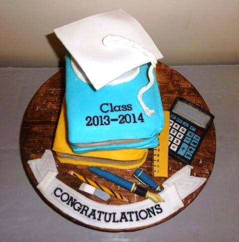 Graduation Cake Created By  Posted By Saumi Cake Delights