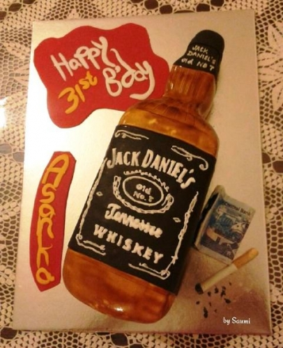 Boozing Time Created By  Posted By Saumi Cake Delights