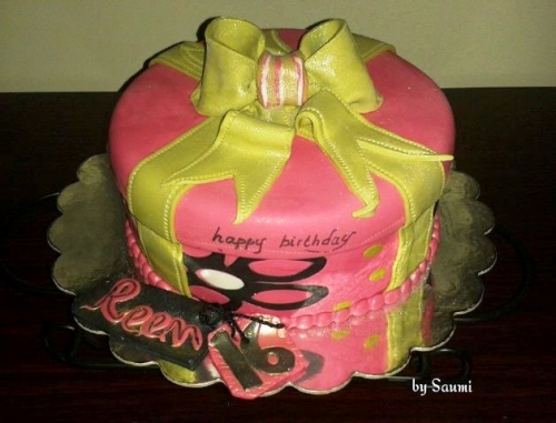 Happy Birthday Cake Created By  Posted By Saumi Cake Delights