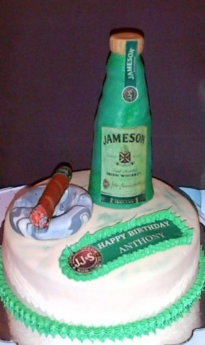 Jameson Cake Created By  Posted By Easy Partys
