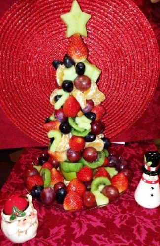 Fresh Fruits Cake Created By  Posted By Easy Partys