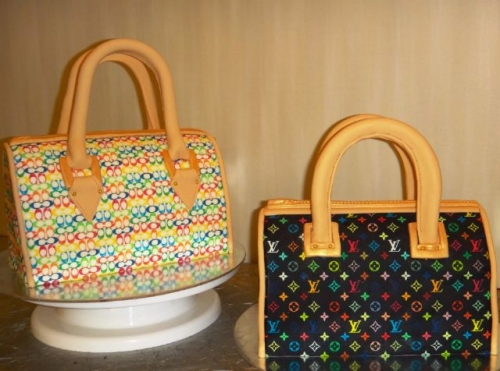 Designer Handbags Cakes Created By  Posted By Easy Partys