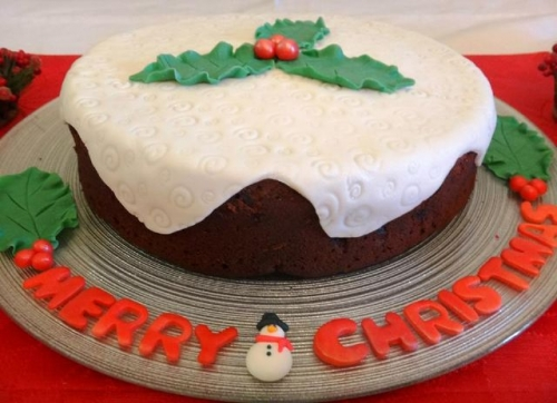 Festive Cake Created By  Posted By Easy Partys
