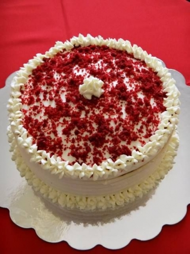 Red Velvet Cake Created By  Posted By Easy Partys