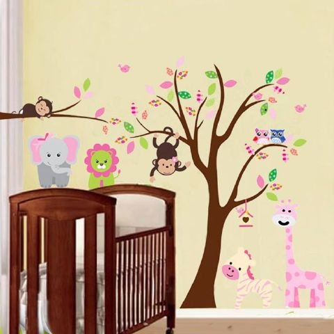 Animals and a Tree Created By  Posted By Big N Small Wall Decals