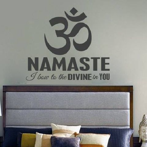 Namaste Created By  Posted By Big N Small Wall Decals