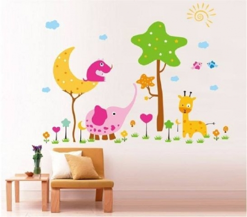 A Day at the Zoo Created By  Posted By Big N Small Wall Decals