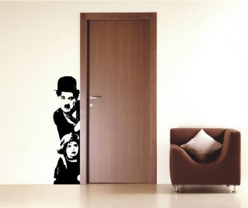 Charlie Chaplin Created By  Posted By Big N Small Wall Decals