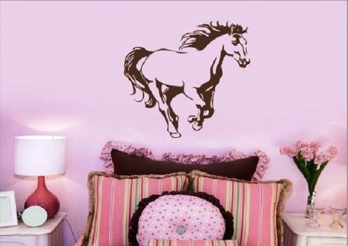 Galloping Horse Created By  Posted By Big N Small Wall Decals