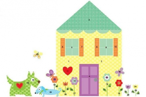 Yellow House Created By  Posted By Big N Small Wall Decals