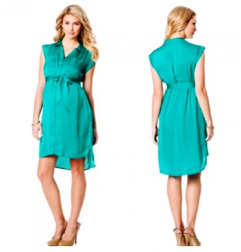 Maternity Shirt Dress Created By  Posted By Babybump.qtr